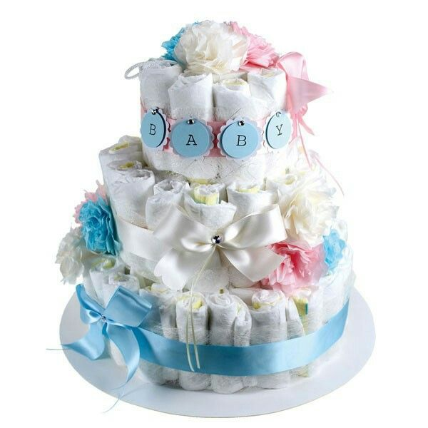 Diapercake for the new born