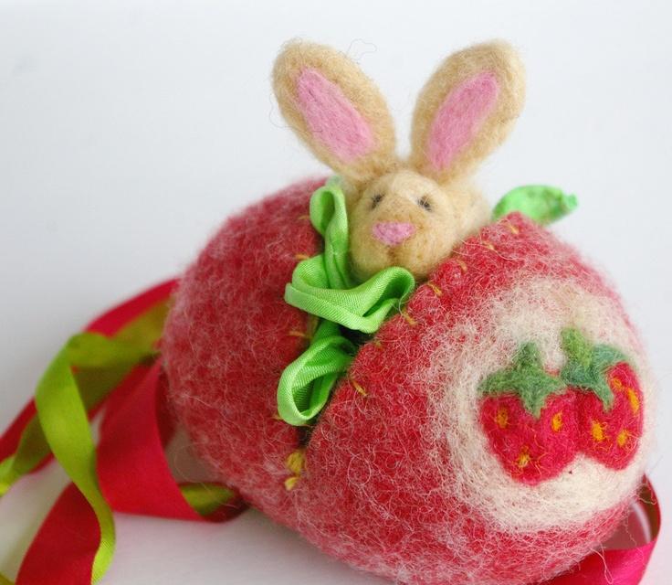 Easter Egg Toy Waldorf Inspired Sweet by BeneathTheRowanTree, $26.50