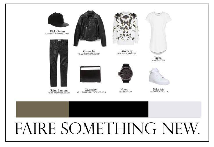 #fairesomethingnew #minimal #simple #bnw #blacknwhite #monichrome #men #menlook #style #fashionista #menwithstyle #urban #streetwear #streetlook #streetfashion #floral #print #cap #trainers #nike #sneakers