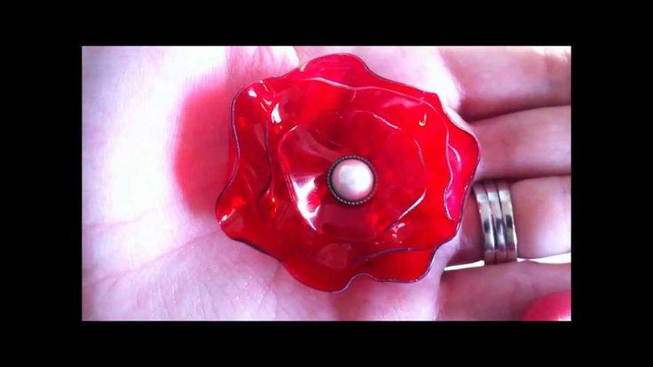 Pop Bottle Flowers Part 2 of 2 ~ Lollipop Flower