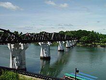 Die Brücke am Kwai – heute