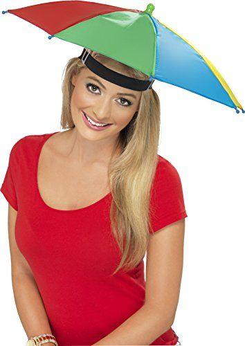 Smiffys Umbrella Hat - Multi-Colour Umbrella Hat, Multi-Coloured (Barcode EAN = 5020570203552). http://www.comparestoreprices.co.uk/december-2016-4/smiffys-umbrella-hat--multi-colour.asp