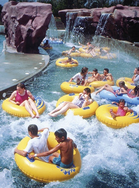 Wild Water West Waterpark | Visit Sioux Falls. My favorite part of the park.    ~Mild lazy river with rapids and waterfalls and spraying water