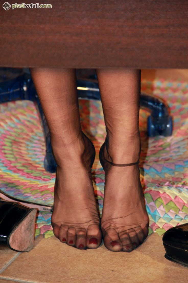 Pin By Jaxman On Mom  Silk Socks, Stockings Heels, Feet Soles-3844