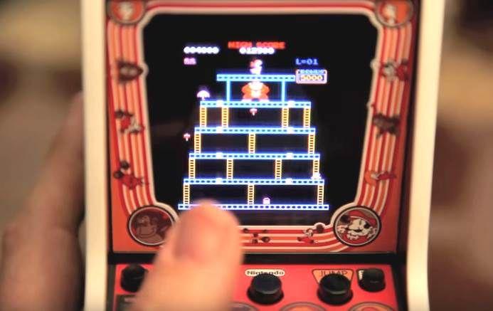 Mini #bandearcade #Donkeykong (#nintendo, #fanart, #geek, #jeuxvideo, #retrogaming, #jeuxvideojap)  http://sushimanleninja.com/mini-bande-arcade-donkey-kong/