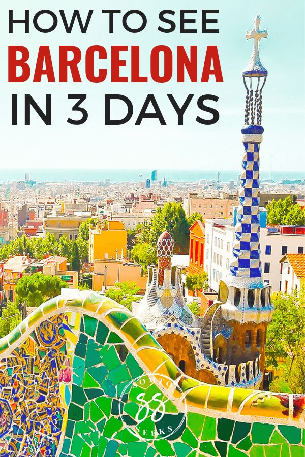 This is the perfect 3 day itinerary for Barcelona, Spain. Find out the best thin…