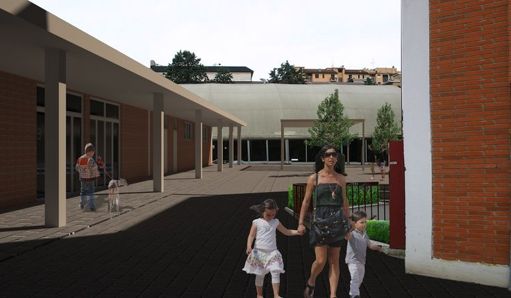 Project by Fabio Carria Architect render by Paola Brancaccio architect
