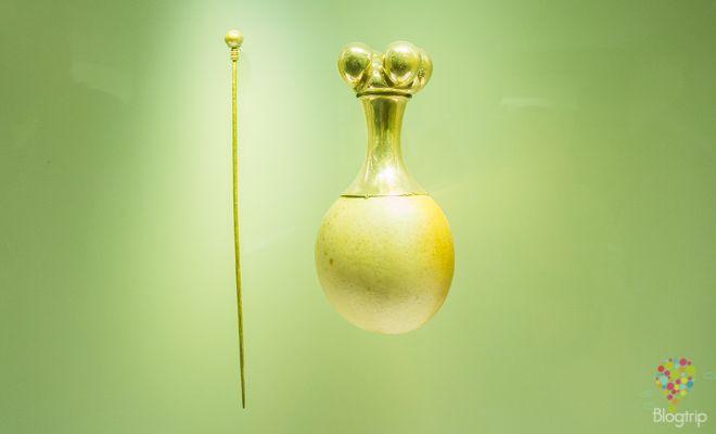 Poporo de oro, museo banco de la república Bogotá https://blogtrip.org/visita-museo-del-oro-bogota-colombia/