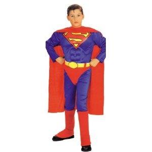 Toddler Superman costume for dress up