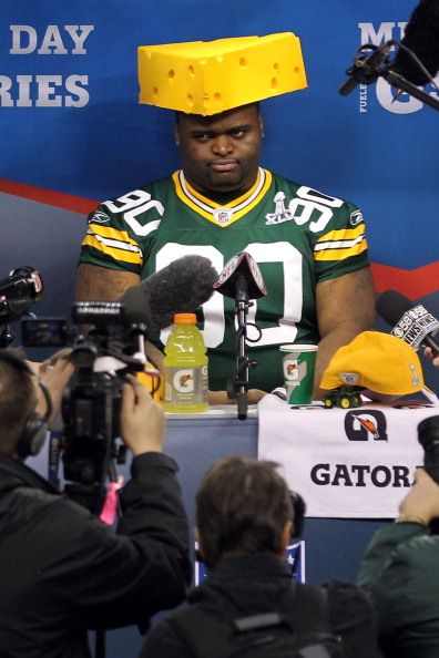 Maybe I just love him because he's a Packer, but BJ Raji makes me LOL. #GoPackGo