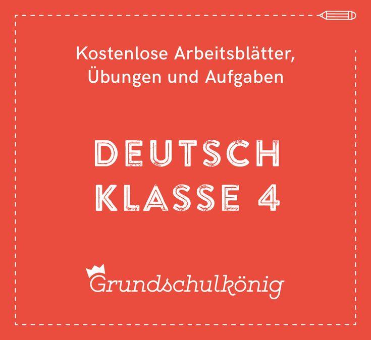 43 besten Deutsch | Grundschule Bilder auf Pinterest | Deutsch ...