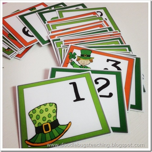 Doodle Bugs Teaching {first grade rocks!}: March Calendar Cards {free download}