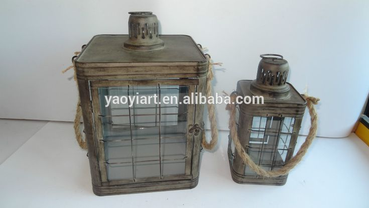Antique Metal Lantern Candle Holders With Rope Handle Photo, Detailed about Antique Metal Lantern Candle Holders With Rope Handle Picture on Alibaba.com.