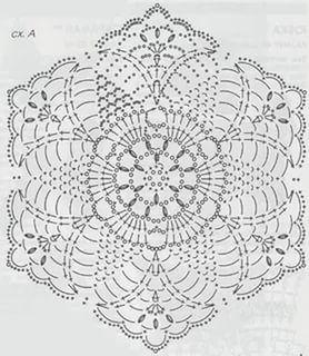 Шестиугольные мотивы крючком со схемами фото 873