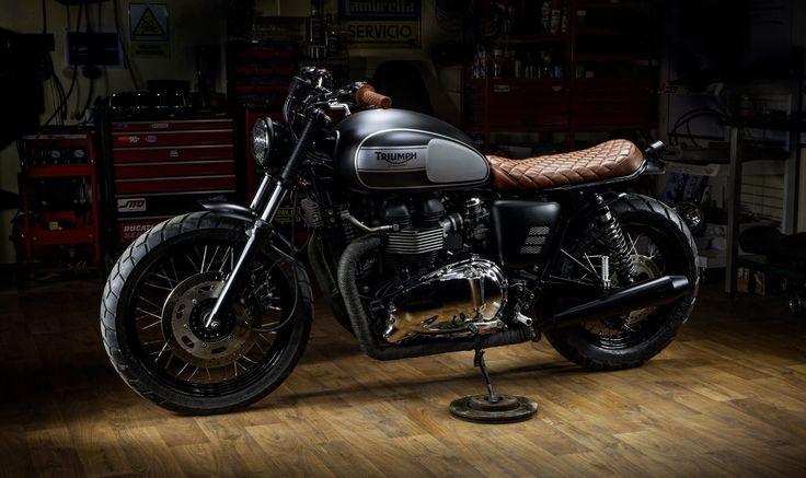 The Lizzard King By Macco Motors Triumph Bonneville T100