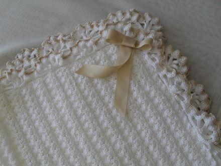 Puntilla Al Crochet Para Mantilla Buscar Con Google