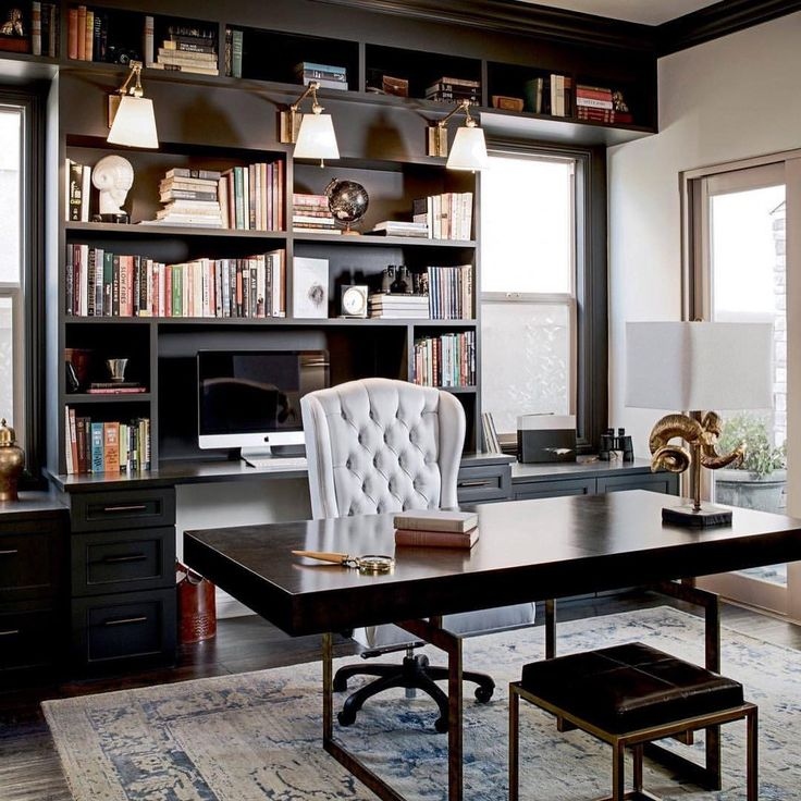 21 Feminine Home Office Designs Decorating Ideas: 1000+ Images About Home Offices On Pinterest
