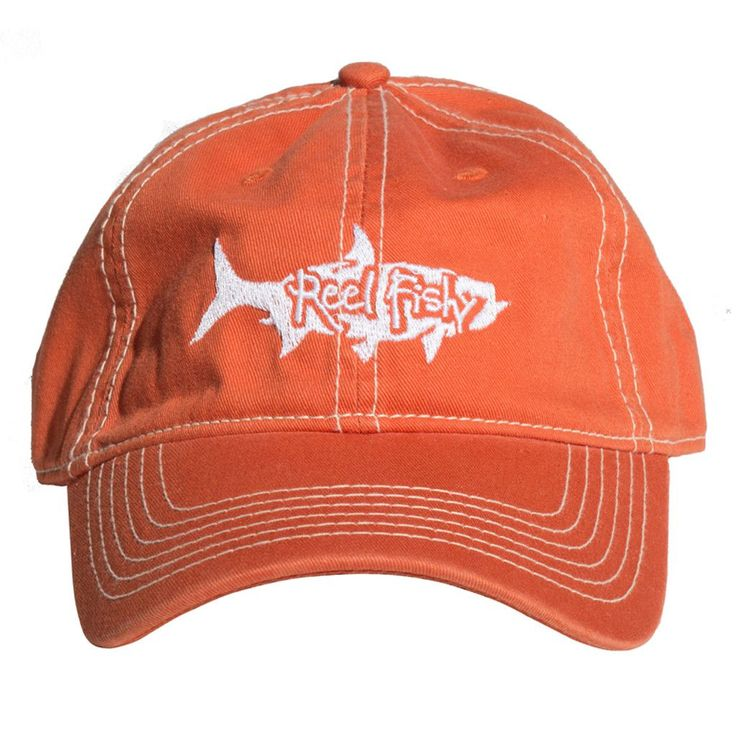Tarpon Unstructured Hats | Trucker Fishing Hat | Reel Fishy Tarpon | Reel Fishy Apparel | Tarpon Fishing | Saltwater Fishing | Dad Hats | Salt Life
