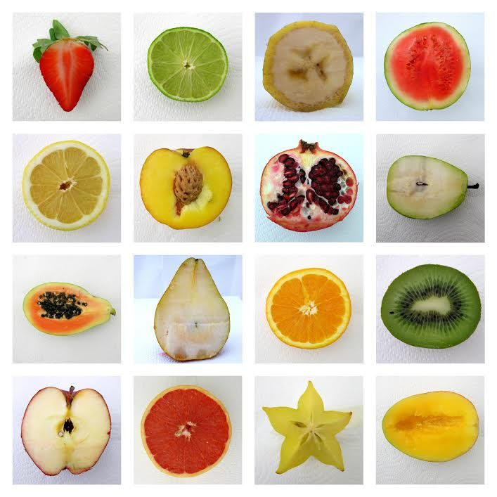 Fruit typology. Photography by Natalie Thomsen.