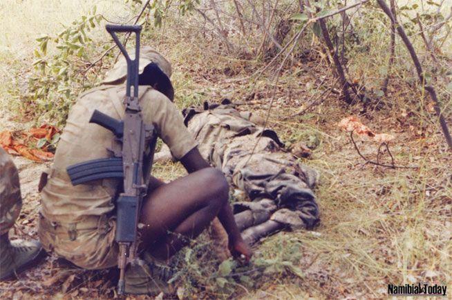SADF Bush War. Koevoet, a Unit that Operated Against SWAPO in Namibia