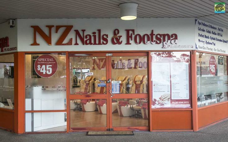 NZ Nail & Footspa is located in the Thirroul Plaza. For all your hand & foot needs!