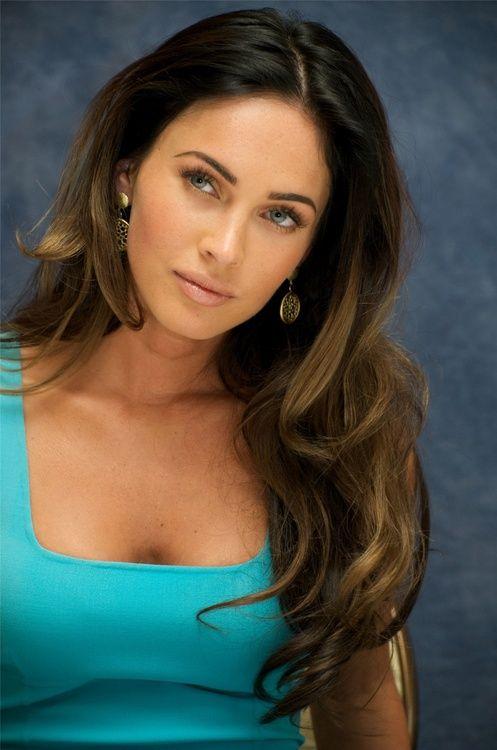 Megan Fox - long hair subtle ombre | More Celebrities ...