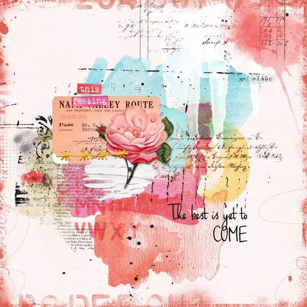 Paula Kesselring Products Art journaling challenge at the LilyPad