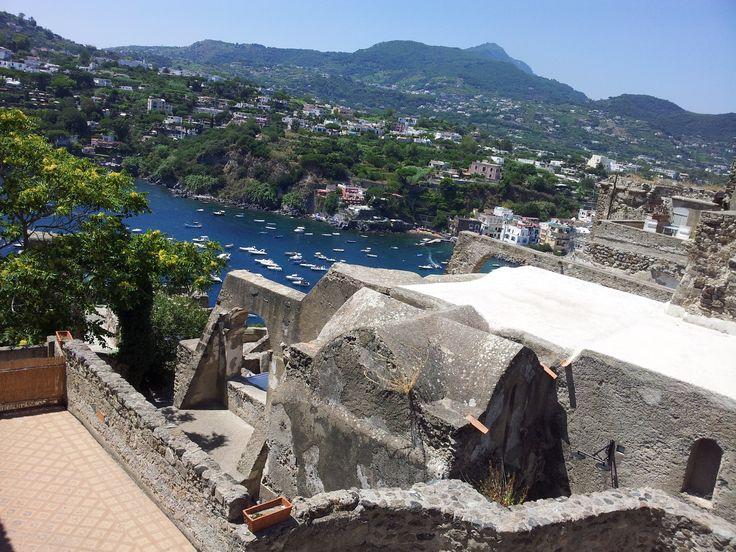 Veduta di Ischia Ponte - Dalle terrazze del Castello Aragonese
