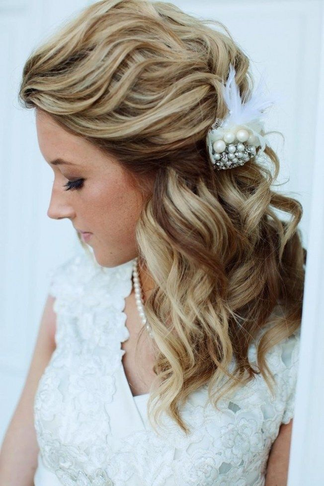 Wedding Hairstyles For Medium Length Hair Side Ponytail Wedding Hairstyles For Medium Hair Medium Length Hair Styles Medium Hair Styles
