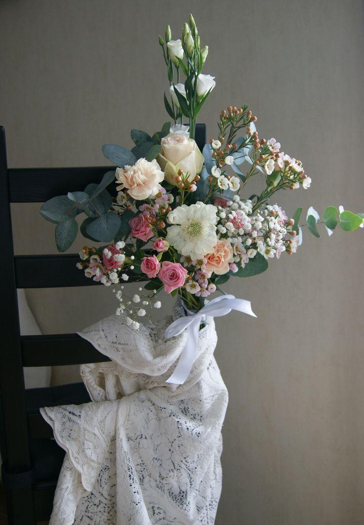 Bouquet chaise de Mariés