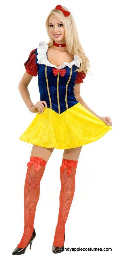 Adult Sexy Snow White Costume - Candy Apple Costumes - Sexy Women's Costumes