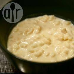Foto da receita: Canjica doce com leite condensado