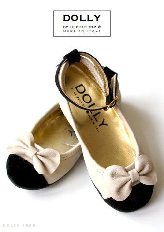 DOLLY by Le Petit Tom ® BALLERINA'S 18GB BEIGE BOW