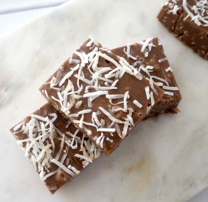 This Chocolate and Coconut Fudge requires just three ingredients and if you like Coconut Rough, you are going to LOVE this fudge.