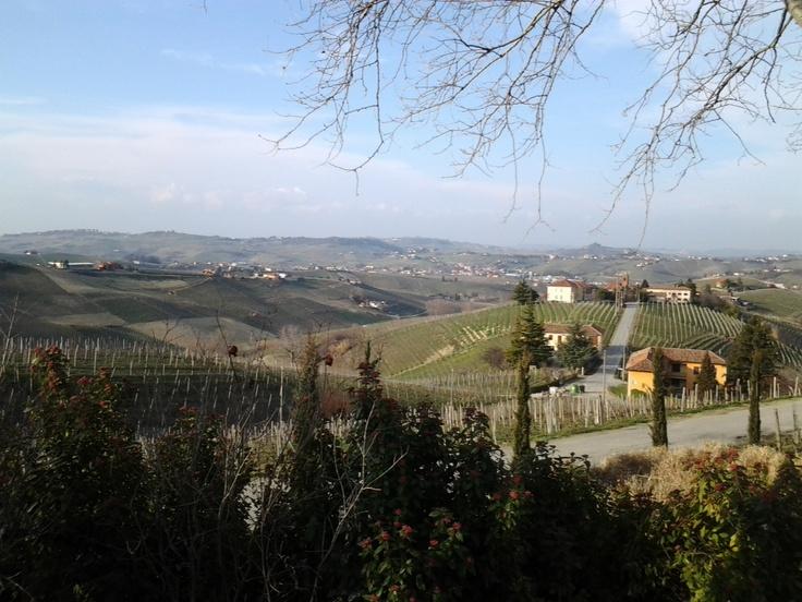 Panorama a Castiglione Tinella