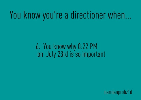 ok if you call yourself a Directioner and you don't know why this day is so important than your not a Directioner period.