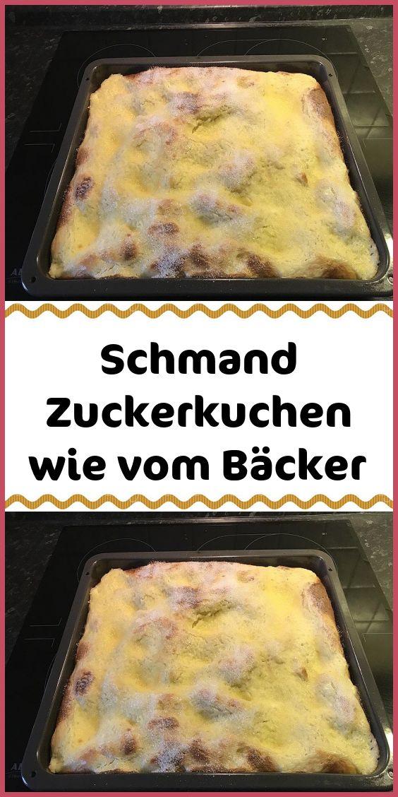 Schmand-Zuckerkuchen wie vom Bäcker   – Kuchen & Torten Rezepte