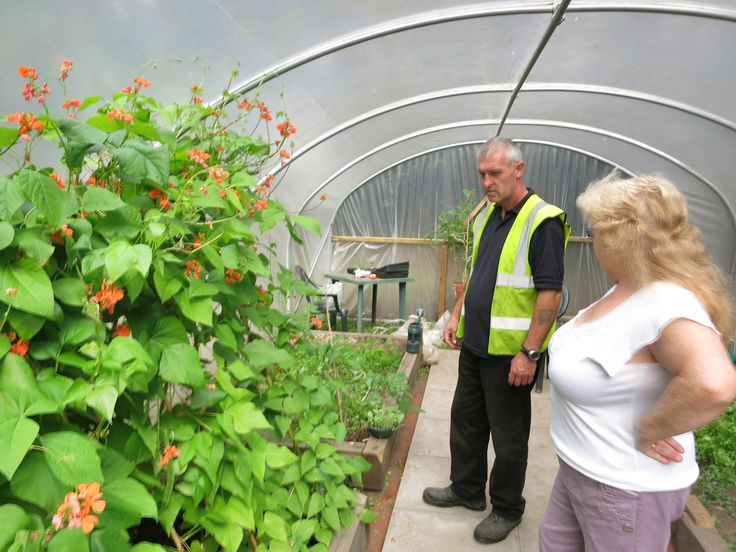 A polytunnel is installed by Pinnacle PSG in Walsall