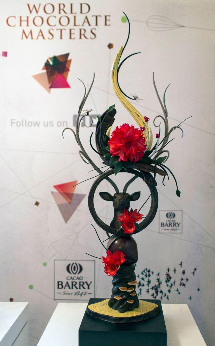 new chocolate showpieces 2015 | Best chocolate showpiece by Alistair Birt
