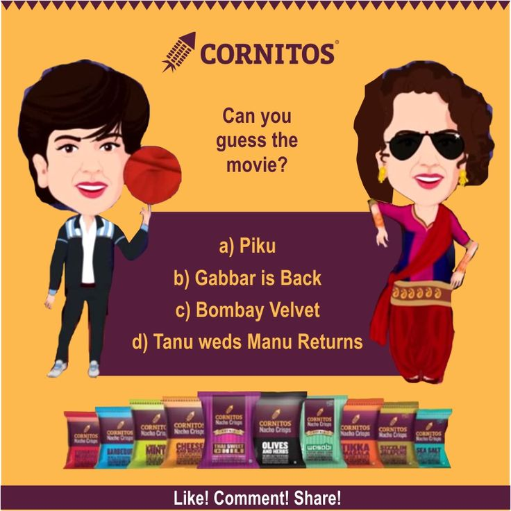 #TriviaAlert #FunWithCornitos Can you guess the movie?  LIKE.COMMENT.SHARE