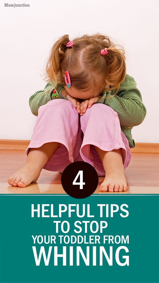 Toddler Whining: Has your toddler suddenly started whining for no obvious reason? Are you worried it could or has already turned into a habit? If you too are worried just like most mothers of toddlers are, do not lose heart. Read on to find out how you can stop your toddler from whining. #Parenting