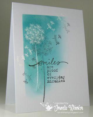 Smiles card by Cornelia Wenokor