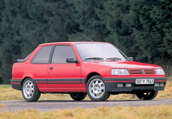 Peugeot 309 GTI - 1987/1993 ✏✏✏✏✏✏✏✏✏✏✏✏✏✏✏✏ IDEE CADEAU / CUTE GIFT IDEA ☞ http://gabyfeeriefr.tumblr.com/archive ✏✏✏✏✏✏✏✏✏✏✏✏✏✏✏✏