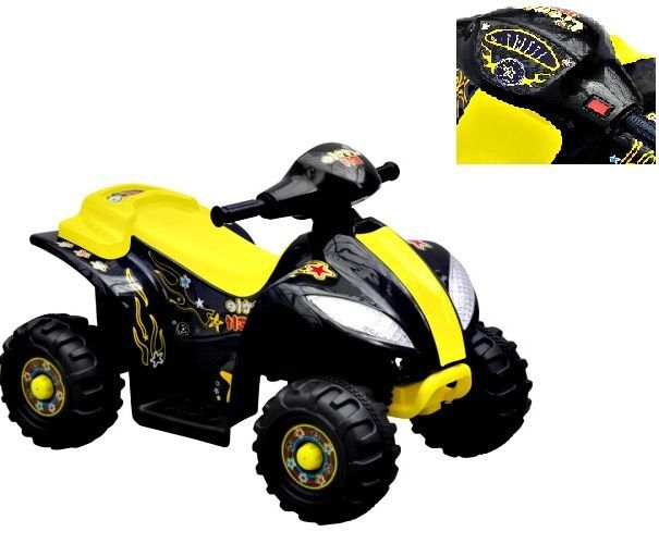 Kids Ride On Quad Bike Electric 6V Rechargeable Battery Car Yard Boys Girls Toy  #Unbranded #ChildrensRideonQuad