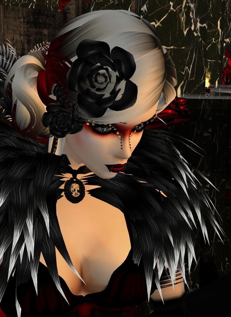 """The Rose"" Captured Inside IMVU - Join the Fun!"