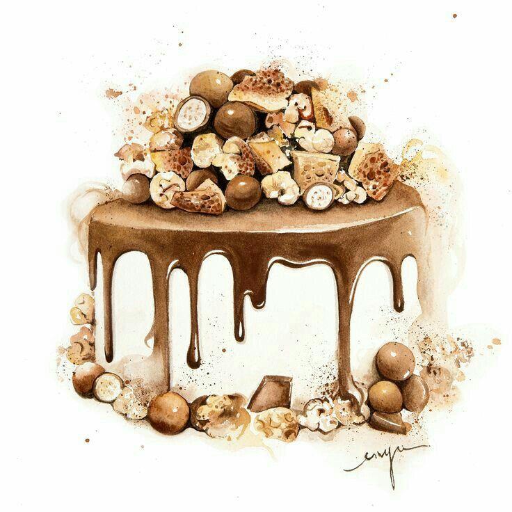 Enya's Art Of Patisserie : Yummy Melting Chocolate cake
