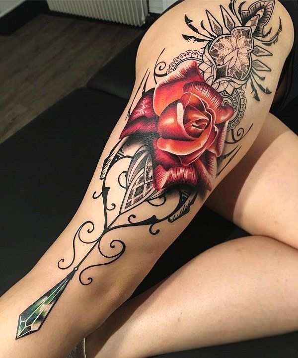 d29508548cd81 70 Women's Cool Leg Tattoos In 2019 - Page 7 of 70 -  PinningFashionPinningFashion