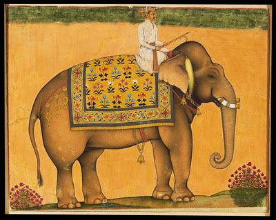 Royal Elephant from Mughal India