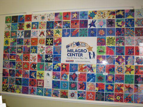 Kids Tile Wall Projects Art Tile Wall Community Service