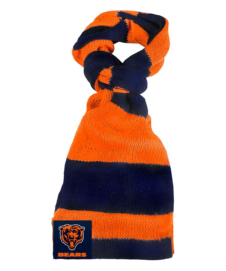 Chicago Bears Color Block Infinity Scarf